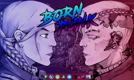 Born Punk is an Upcoming Cyberpunk Point and Click Adventure Game